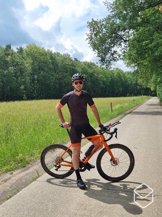 cobbles review bliz eyewear fietsbril breeze fusion matt orange