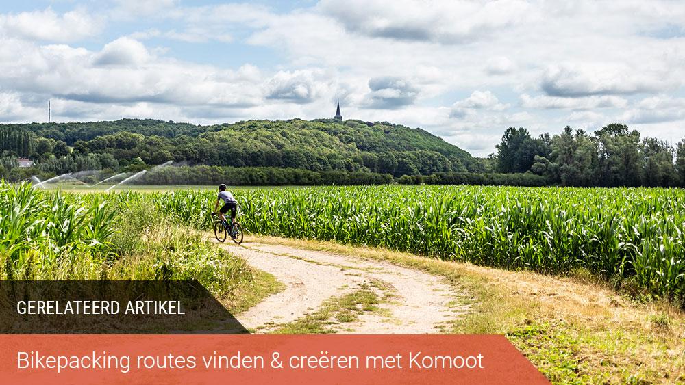 komoot bikepacking route gerelateerd